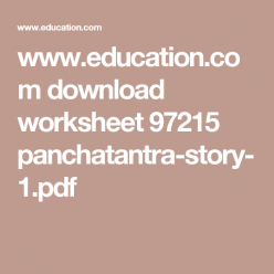 "Panchatantra: ""The Fish That Were Too Clever"""