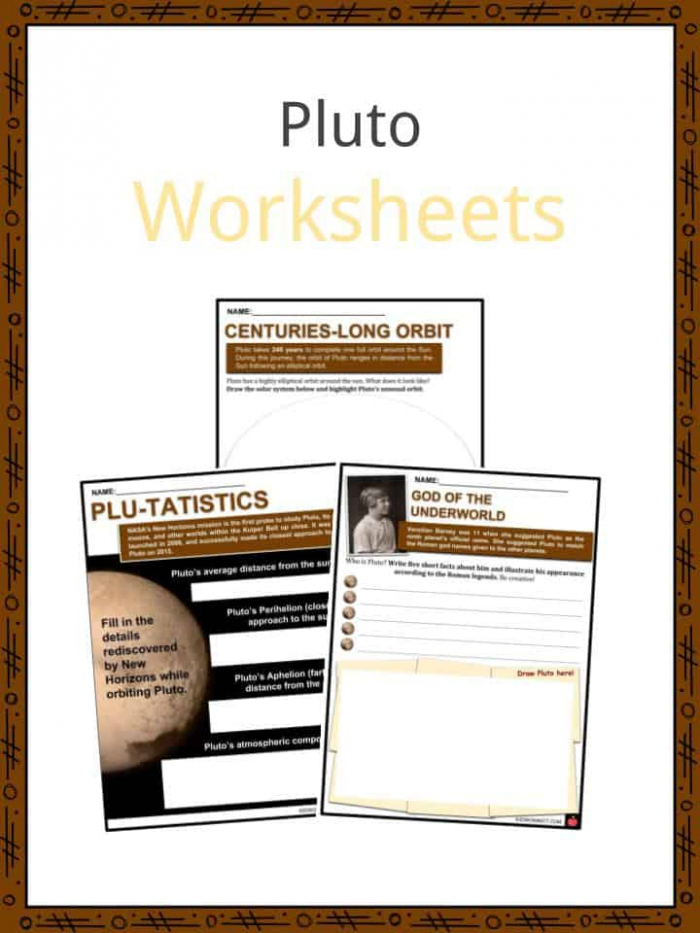 Pluto Facts  Worksheets  Dwarf Planet  Origin   Location For Kids