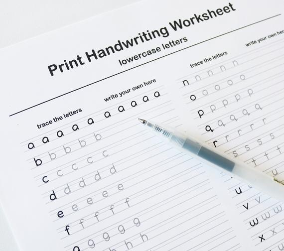 Calligraphy Writing Worksheets 99Worksheets