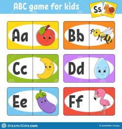 Learn The Alphabet With Alphabet Card Games