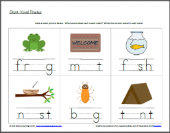 Missing Sound: Short Vowel Practice