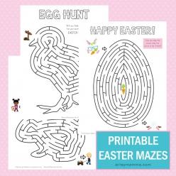 Easter Letter Maze