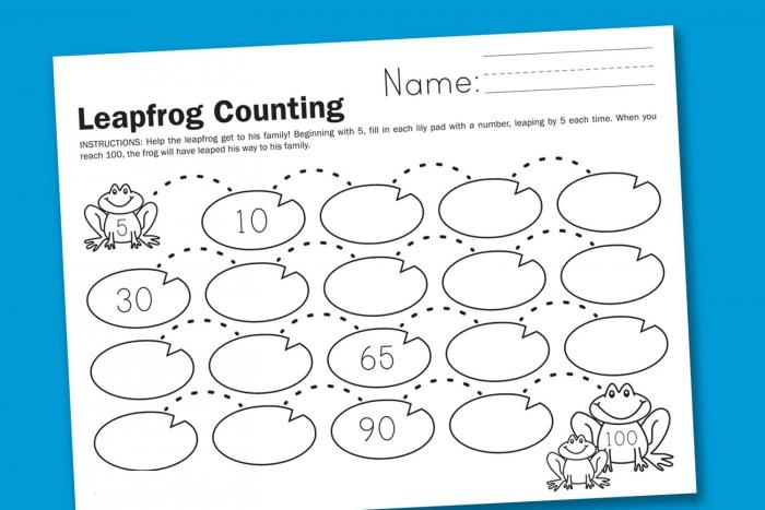 Skip Count Worksheets Printable