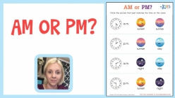 Telling Time With AM And PM Check-In