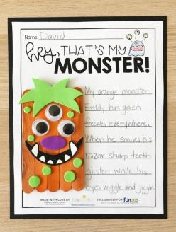 Descriptive Language: Make A Monster!
