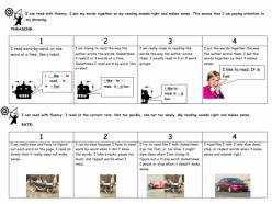 My Fluency Checklist!