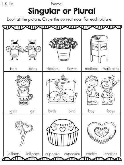 Valentines Day Literacy Activities Kindergarten