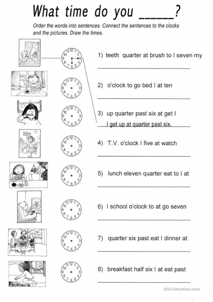 What Time Do You