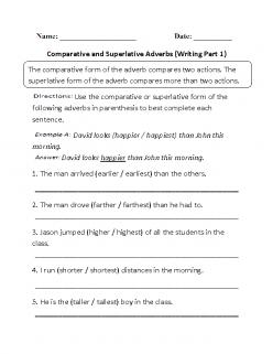 Adverbs In A Script