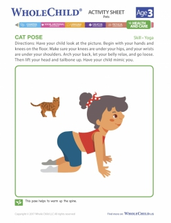 Yoga For Kids: Cat Pose