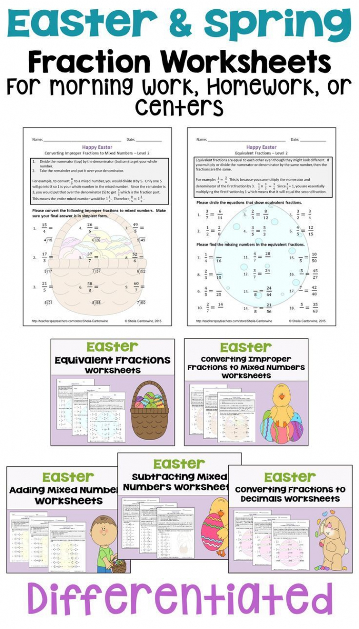 Best Easter Math Images In