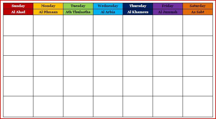 Calendars For Learning