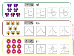 Learn Chinese: Number Matching 1-10