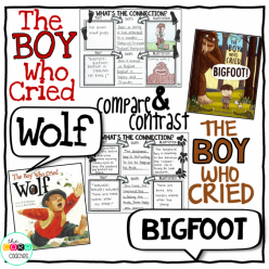The Boy Who Cried Wolf: Making Text Connections