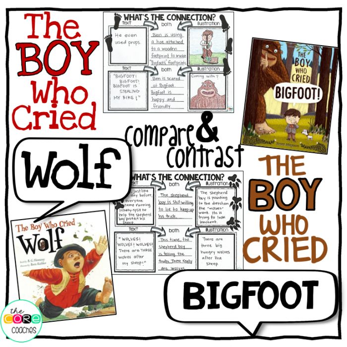 Compare And Contrast The Boy Who Cried Wolf With The Boy Who