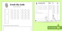 Crack The Code With Addition And Subtraction