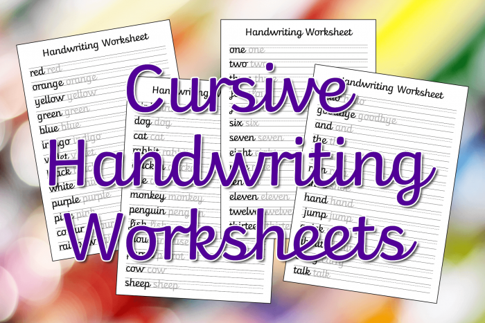 Cursive Writing Practice: My Name Worksheets 99Worksheets