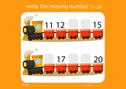 Missing Numbers: 11-15