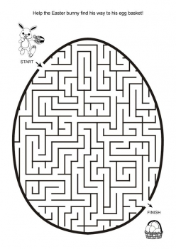 Solve The Easter Egg Maze