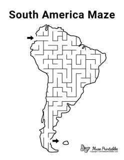 Color The Continents: South America