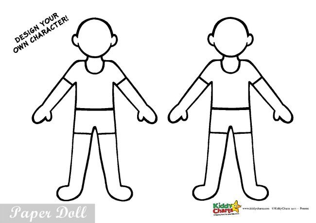 Free Printable Uniformed Paper Dolls Activity For Kids Doctors