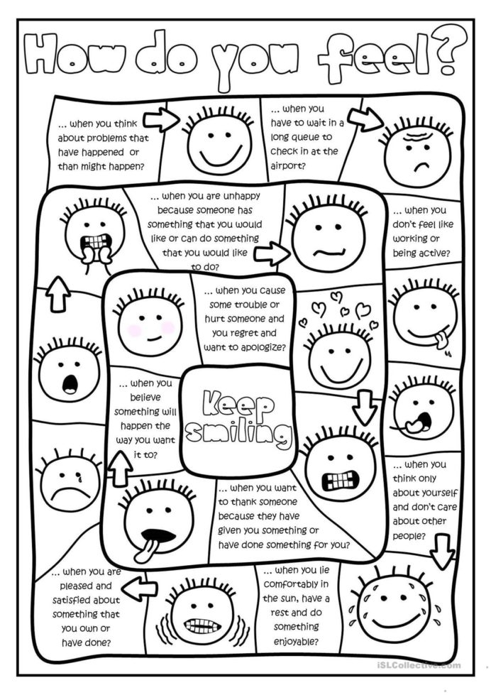 Free Printables And Activities On Feelings Emotions Art Therapy