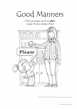 Manners Worksheet