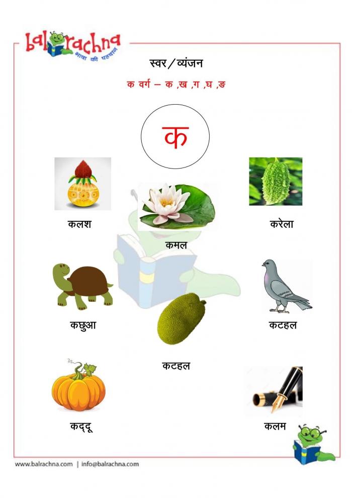 An Introduction To Hindi Consonants: Ch, Chh, Ja, Jha, And Nja Worksheets  99Worksheets