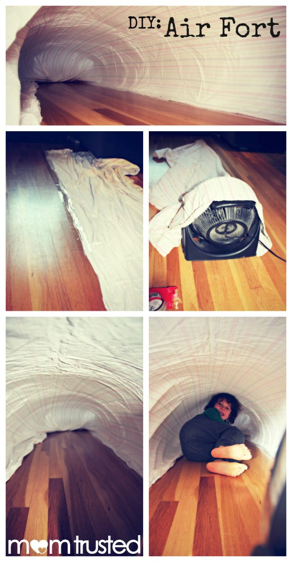 How To Make An Air Fort Of Awesomeness