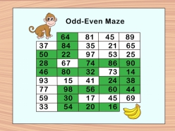 Odd Or Even Math Board Game