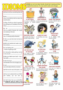 Idioms: Tell Us What You Think!
