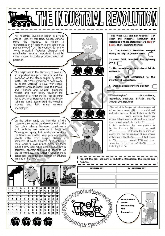 Industrial Revolution And The Simpsons