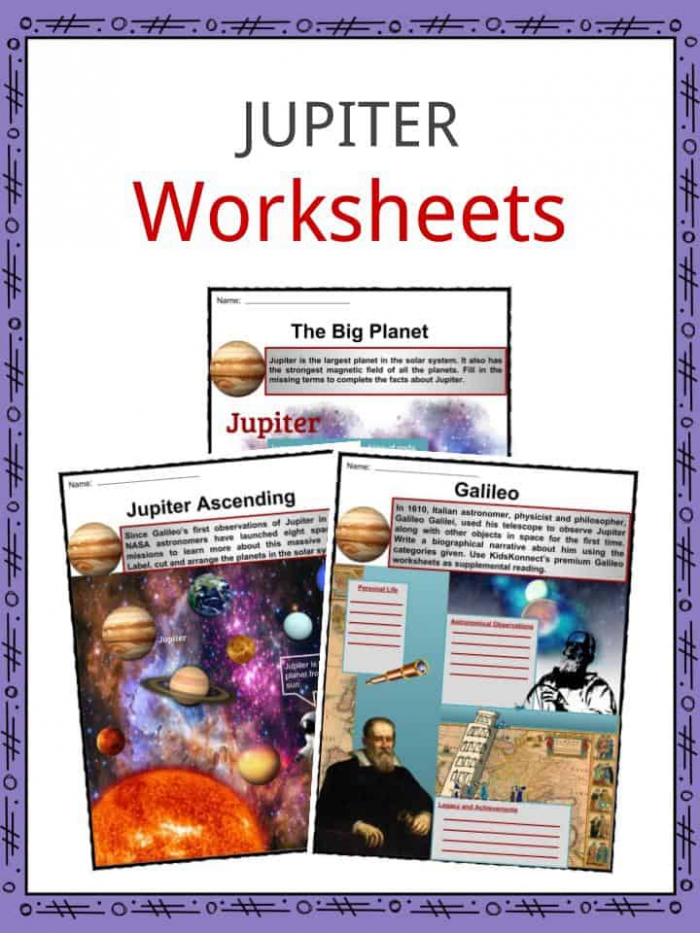 Jupiter Facts  Worksheets  Formation   Composition For Kids