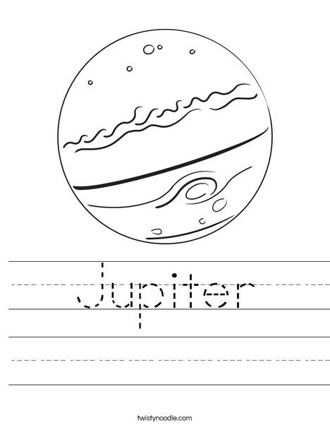 Jupiter Worksheet