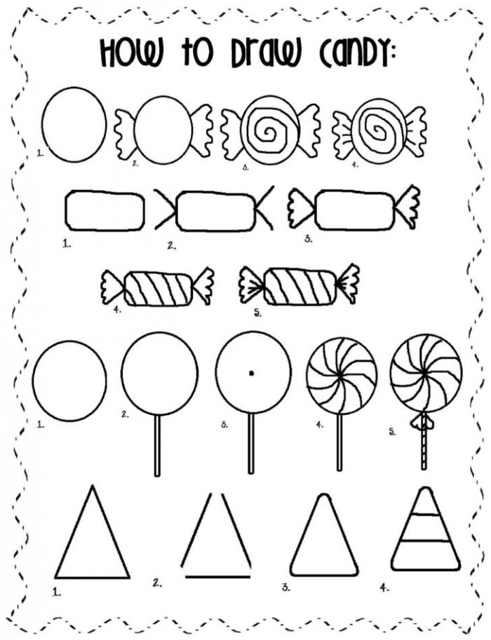Kindergarten Worksheet Candy Printable Worksheets And Activities