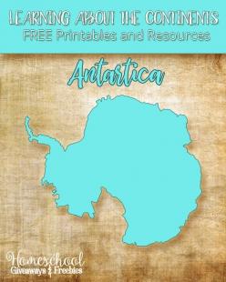 Color The Continents: Antarctica
