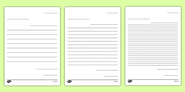 Letter To Future Teacher Writing Template Worksheet