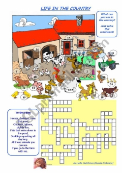 Life On The Farm Crossword