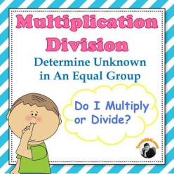 Multiplication: Equal Group Problems (Part One)