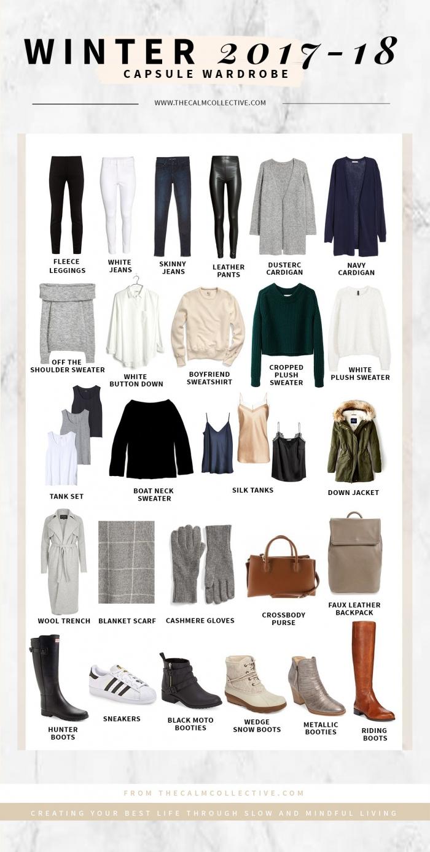 My Winter Capsule Wardrobe  A Free Capsule Edit Worksheet