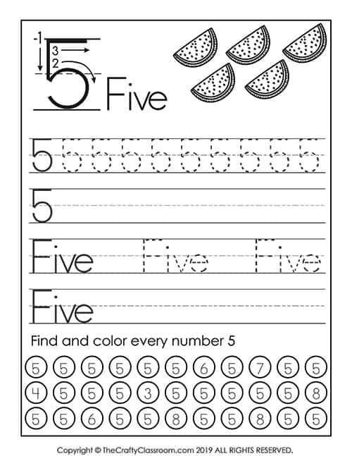 Preschool Number Worksheets Mom For Common Core Math Th Grade