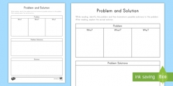 Problem And Solution Organizer