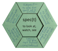 Root Word Study: Spect