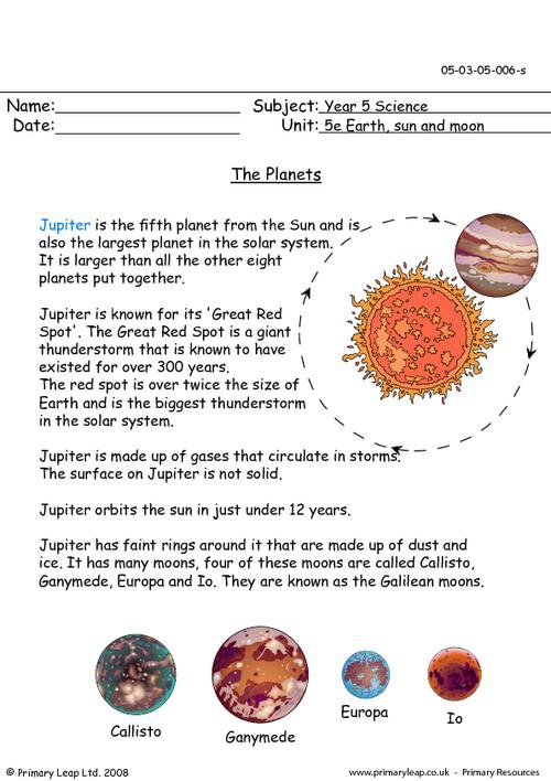 Science The Planets Jupiter