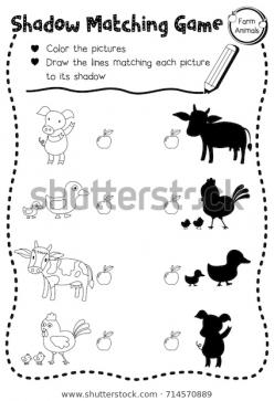 Farm Animal Matching Game