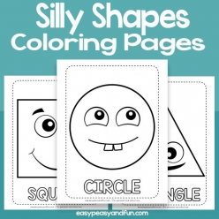 Silly Shapes: Make A Face!