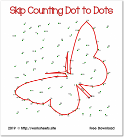 Connect The Dots: Practice Skip Counting By Twos