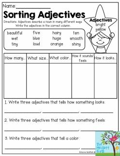 Grammar Review: Adjectives