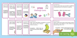 STEM Design Challenge Cards
