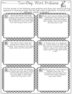 Winter Multiplication And Division Word Problems